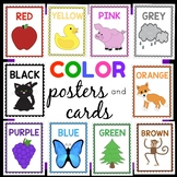 Color posters and cards