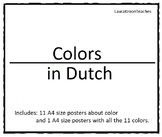 Colors in Dutch - A4 size posters