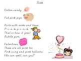 Color songs lyrics by Frog Street Press Powerpoint