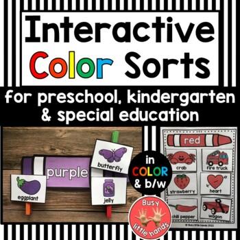 Interactive Color sorts