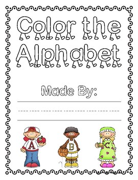 Color the Alphabet: A Beginning Sounds Activity