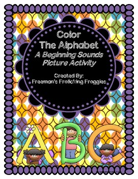 Color the Alphabet: A Beginning Sounds Activity