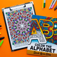 Color the Alphabet: Coloring Book | Printable PDF coloring pages A-Z