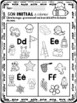 Color the Beginning Sound Pictures/ Colorie le son initial