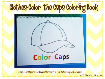 Color the Caps Coloring Book