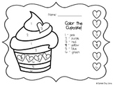 Color the Cupcake!
