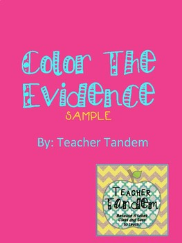 Color the Evidence SAMPLE