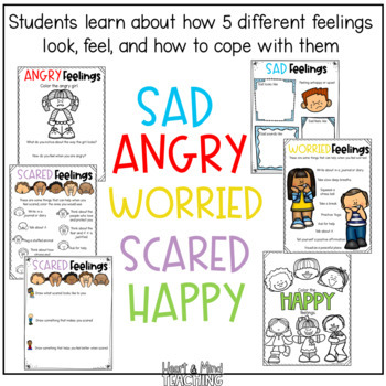 Color the Feelings Kids Edition