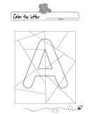 Color the Hidden Letter