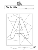 Color the Hidden Letter