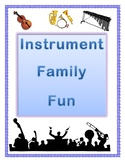 Instrument Family Fun