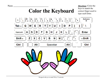 Color the Keyboard
