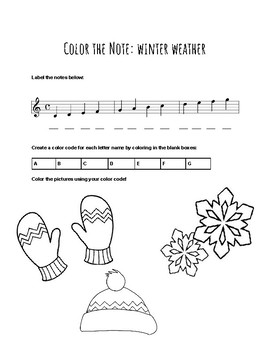 Color the Note