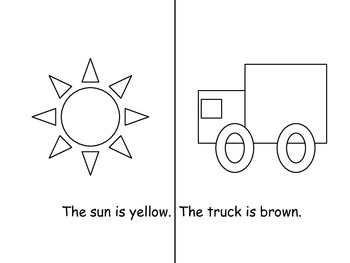 Color the Objects with the corresponding color