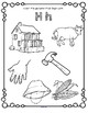 Alphabet Beginning Sounds Coloring Printables