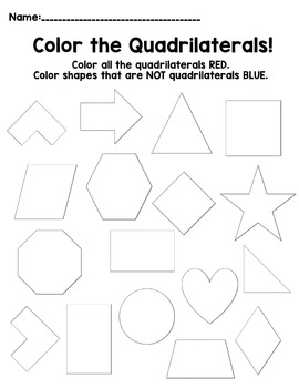 Color the Quadrilaterals