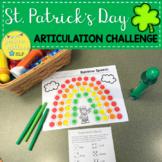 St. Patrick's Day Articulation Bingo Dauber Activity