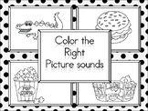 Color the Right Picture Sound