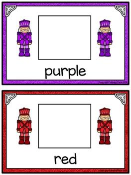 Color Matching Activity Set - Colorful Nutcrackers
