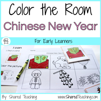 Color the Room Chinese New Year