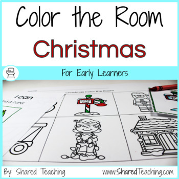 Color the Room Christmas