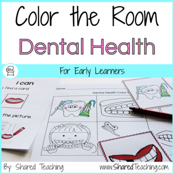 Color the Room Dental Health
