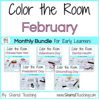 Color the Room February Bundle