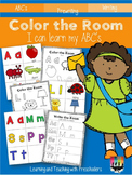 Color the Room I can learn my ABC's