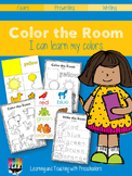 Color the Room I can learn my colors