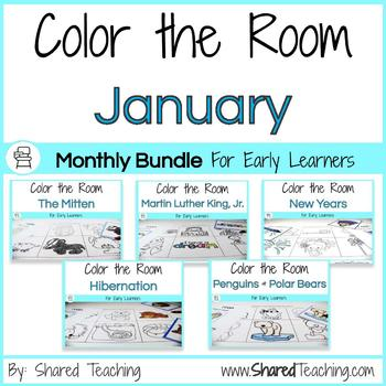 Color the Room January Bundle