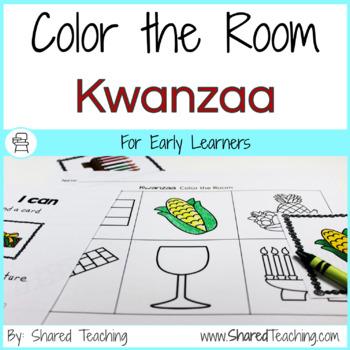 Color the Room Kwanzaa