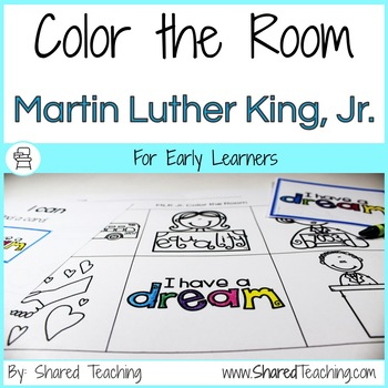 Color the Room Martin Luther King, Jr.