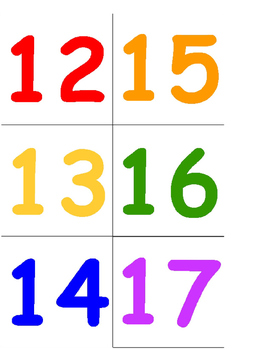 Color the Room - Numbers