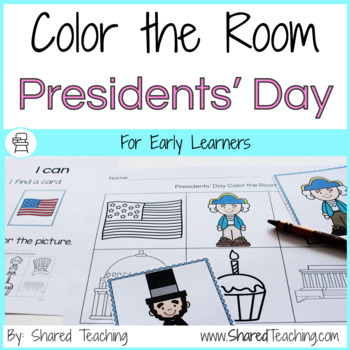 Color the Room Presidents' Day
