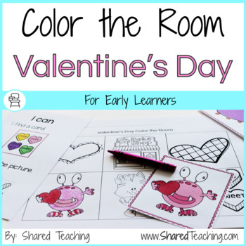 Color the Room Valentine's Day