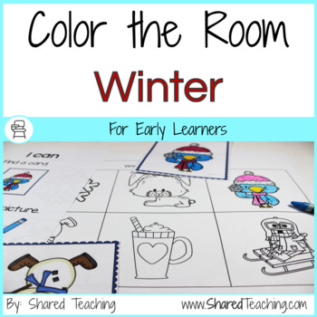 Color the Room Winter