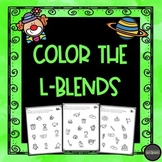 Color the L-Blends *DISTANCE LEARNING*