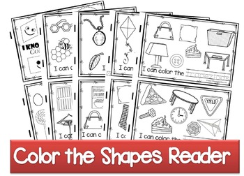 Color the Shapes Reader