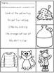 Color the Sight Word Sentences