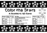 Color the Stars ~ Doubles to 120 - A Color & Dice Maths Game