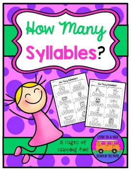 Color the Syllables