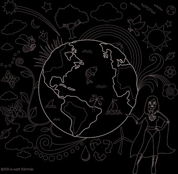Color the World Doodle