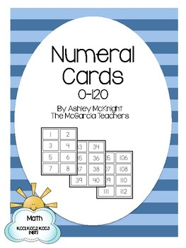 Numeral Cards 0-120