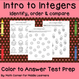 Color to Answer Test Prep
