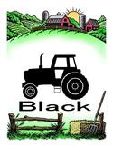 Color tractors