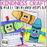 Kindness Writing Craft + Bulletin Board Kit - Color With Kindness