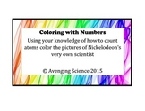 Color with Numbers Using Chemial Formulas