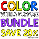 Color with a Purpose Reading Passages BUNDLE for First and