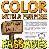 Color with a Purpose Reading Passages (Fall Edition) for 1
