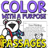Color with a Purpose Reading Passages (Winter Edition) for
